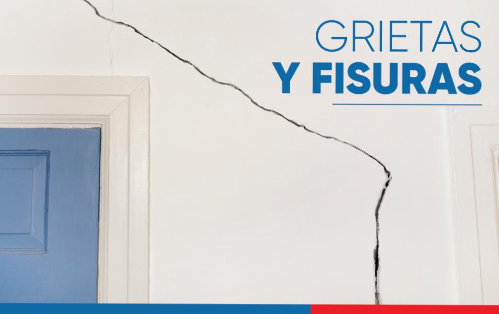Grietas y fisuras, dos daños en la pared que pueden repararse